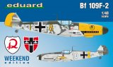 EDU84147 - Eduard Models 1/48 Bf 109F-2 [Weekend Edition]