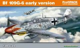 EDU82113 - Eduard Models 1/48 BF 109G-6 EARLY VERSION PROFI PACK