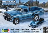 "REV85-7224 - Revell 1/24 1980 Jeep Honcho ""Ice Patrol"" - Trucks Series"