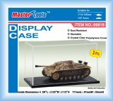 "TRP09818 - Trumpeter Display Case Vitrine - 2 Pieces - (L/W/H) = 111 x 61 x 63mm / 4 3/8"" x 2.2/5"" x 2 1/2"""