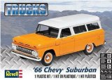 REV85-4409 - Revell 1/25 1966 Chevy Suburban - Trucks Series