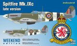 EDU7431 - Eduard Models 1/72 SPITFIRE MK.IXC LATE VERSION