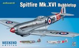 EDU84141 - Eduard Models 1/48 SPITFIRE MK.XVI BUBBLETOP WEEKEND