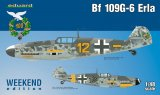 EDU84142 - Eduard Models 1/48 Bf 109G-6 Erla [Weekend Edition]