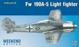 EDU7439 - Eduard Models 1/72 FW 190A-5 Light Fighter [WEEKEND ED.]