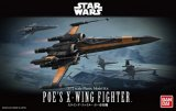 BAN0210500 - Bandai 1/72 Star Wars: Poe's X-Wing Fighter