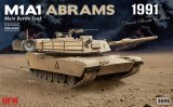RYERM-5006 - Rye Field Model 1/35 M1A1 Abrams 1991 - Main Battle Tank - Desert Storm Edition