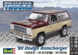 REV85-4372 - Revell 1/24 1980 Dodge Ramcharger - Trucks Series