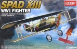 ACA12446 - Academy 1/72 SPAD XIII - WW I Fighter