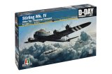 ITA1350 - Italeri 1/72 Stirling Mk. IV - Glider Tug - Paratroops Transport