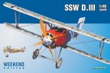 EDU8484 - Eduard Models 1/48 SSW D.III WEEKEND EDITION