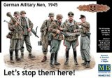 MBLMB35162 - Master Box 1/35 Let's stop them here! - German Military Men, 1945 - World War II Era Series