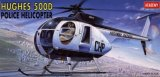 ACA12249 - Academy 1/48 Hughes 500D Police Helicopter