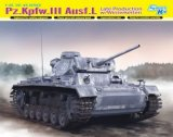 DRA6387 - Dragon 1/35 Pz.Kpfw.III Ausf.L Late Production w/Winterketten - Smart Kit - '39-'45 Series