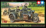 TAM32578 - Tamiya 1/48 GERMAN MOTORCYCLE & SIDECAR
