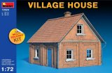 MIA72024 - Miniart 1/72 Village House - Multi-Colored Kit