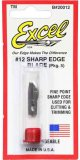 EXC20012 - Excel #12 Sharp Edge - Replacement Blades ( Pkg. of 5 )