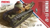 MENTS008 - Meng 1/35 French FT-17 Light Tank