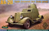 ACE48109 - ACE 1/48 Ba-20 Light Armored Car (Late Production Series / Conical Turret )