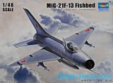 TRP02858 - Trumpeter 1/48 MIG-21F-13 FISHBED
