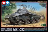 TAM32574 - Tamiya 1/48 GERMAN 8-WHEELED HEAVY ARMORED CAR SD.KFX.232