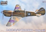 SWO72065 - Sword 1/72 P-40K-10/15 Warhawk Long Tail