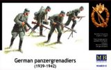 MBLMB3513 - Master Box 1/35 German Panzergrenadiers (1939-1942) - World War II Era Series