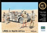 MBLMB3598 - Master Box 1/35 Long Range Desert Group (LRDG) - Battles in Northern Africa Series - World War II Era Series