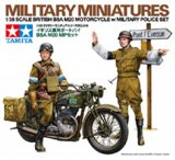 TAM35316 - Tamiya 1/35 BSA MOTORCYCLE & MPS