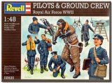 REV02620 - Revell 1/48 Pilots & Ground Crew Royal Air Force WWII