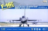 KIN48028 - Kinetic 1/48 F-16C Block 52+ - Hellenic Air Force Fighting Falcon - Aegean Star - Aegean Fox