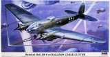 HAS00929 - Hasegawa 1/72 Heinkel He 111H-8 w/Balloon Cable Cutter