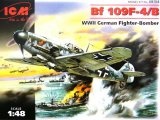 ICM48104 - ICM 1/48 Bf 109F-4/B - WW II German Fighter-Bomber