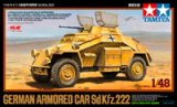 TAM89777 - Tamiya 1/48 Sd.Kfz.222 Armoured Car
