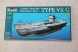 REV05093 - Revell 1/350 German Submarine Deutsches U-Boat Type VIIC