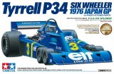 TAM20058 - Tamiya 1/20 Tyrrell P34 Six Wheeler 1976 Japan GP with Photo-Etched Parts