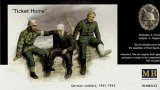 MBLMB3552 - Master Box 1/35 Ticket Home - German Soldiers, 1941-1943 - World War II Era Series