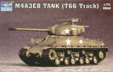 TRP07225 - Trumpeter 1/72 M4A3E8 TANK W/T66 TRACK