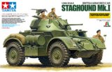TAM89770 - Tamiya 1/35 Staghound Mk.I w/Reference Book & Photo-etch