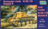 UMM343 - UM Models 1/72 Tank Hunter Sd.Kfz.138 Marder III