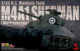ASU35-010 - Asuka Model 1/35 M4A1 Sherman U.S. Medium Tank (Mid Production)