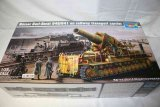 TRP00209 - Trumpeter 1/35 MORSER KARL-GERAT 040/041 ON RAILWAY TRANSPORT CARRIER
