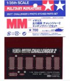 TAM35277 - Tamiya 1/35 CHALLENGER 2 PHOTO-ETCHED PARTS SET