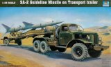 TRP00204 - Trumpeter 1/35 SA-2 GUIDELINE MISSLE ON TRANSPORT