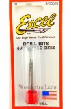 EXC55520 - Excel Drill Bits - 6 Assorted Sizes
