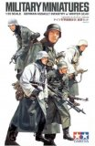TAM35256 - Tamiya 1/35 GERMAN ASSAULT INFANTRY W/WINTER