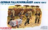DRA6070 - Dragon 1/35 German Fallschirmjager (Crete 1941) - '39-'45 Series