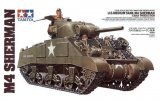TAM35190 - Tamiya 1/35 U.S. MEDIUM TANK M4 SHERMAN (EARLY PRODUCTION)