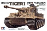TAM35194 - Tamiya 1/35 GERMAN TIGER I  MID PRODUCTION
