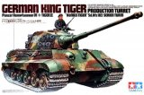 TAM35164 - Tamiya 1/35 GERMAN KING TIGER PRODUCTION TURRET